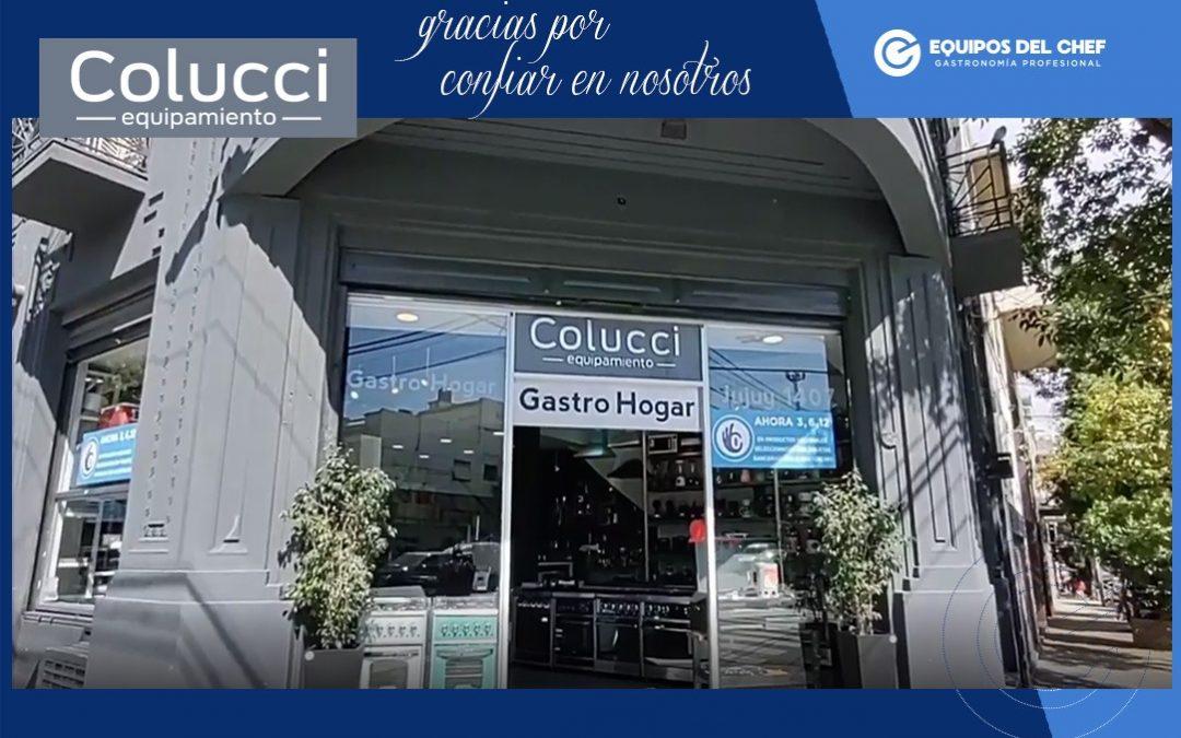 Colucci equipamiento